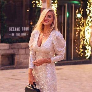 Zara bloggers fav sequin dress